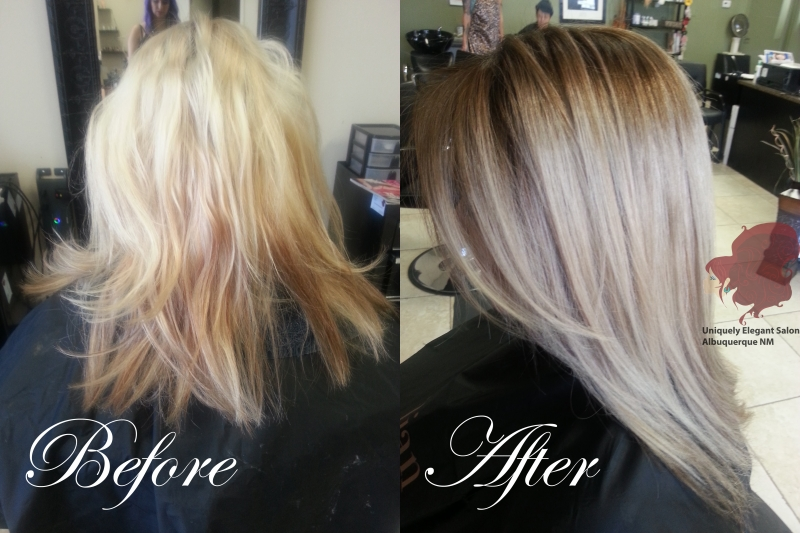 Images Tagged Before And After Hair Color Uniquely Elegant Salon Spa