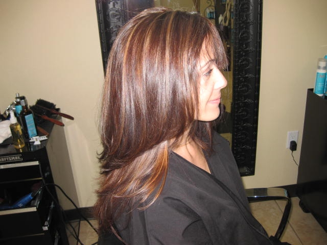 Images tagged honey hair highlights uniquely elegant for Honey beauty salon