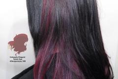 Balayage, shadow root, long layer haircut