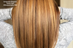 Brazilian Blowout with split ends treatment