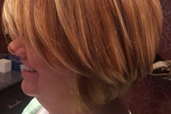 sliced-hair-highlights-copper-violet-stacked-bob-haircut