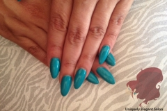 manicure-albuquerque-almond-shaped-acrylics-nails-ocean-blue-gel