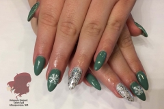 sculptured-acrylic-nails-christmas-winter-nail-art-sparkles-gel-polish-abq