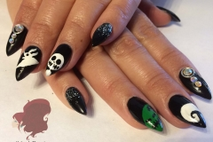 sculptured-acrylic-nails-halloween-nail-art-abq