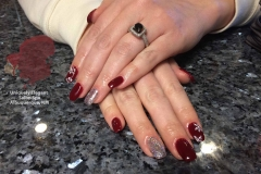 sculptured-nails-gel-nail-polish-christmas-winter-nail-designs