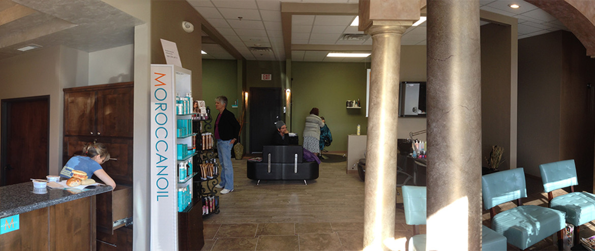 Beautiful Welcoming Ambient Top rated hair salon Albuquerque